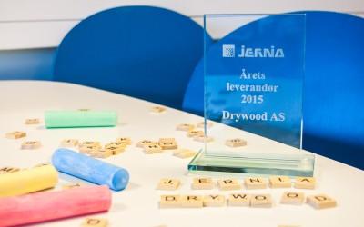 Årets leverandør Jernia 2015