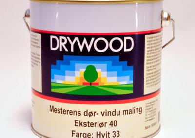 Mesterens doer- vindu maling Eksterioer40 Farge hvit33